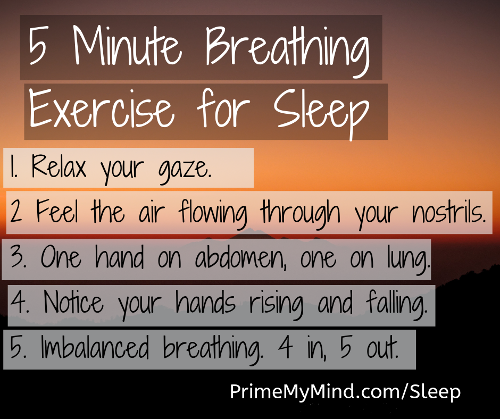 mindfulness sleep exercise