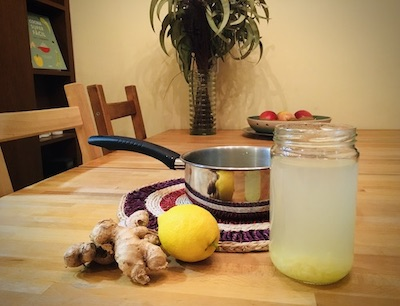 Immunity boost ginger tea recipe